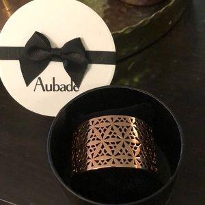 PERFECT GIFT. AUBADE LARGE GOLD BRACELET